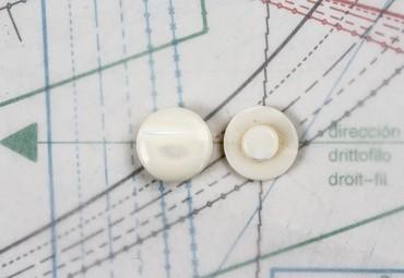 bouton en nacre, 1 lot 10 pièces