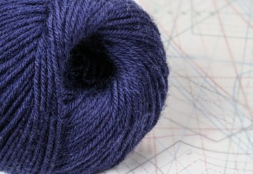 fil à tricoter en fibres de mouton