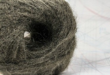 fil à tricoter en fibres de chèvre kid mohair et mouton mérinos