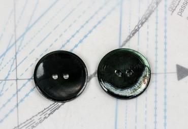 bouton en nacre, 1 lot 8 pièces