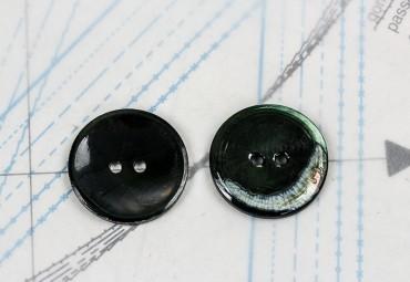 bouton en nacre, 1 lot 5 pièces