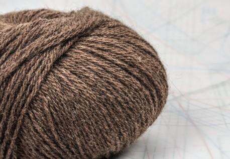 fil à tricoter en fibres de yack