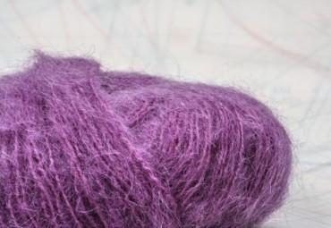 fil à tricoter en fibres de chèvre mohair, mouton et Polyamide