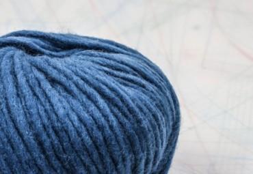 fil à tricoter en fibres de mouton mérinos