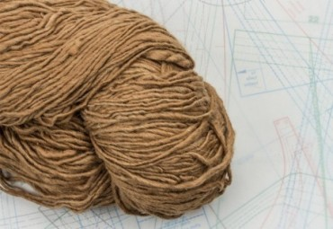 fil à tricoter en fibres d'alpaga