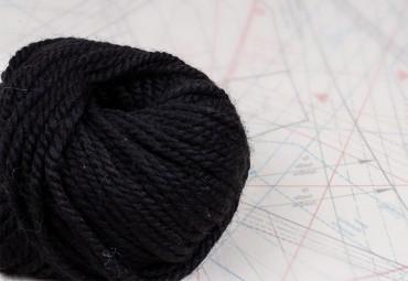 fil à tricoter en fibres de mouton et baby alpaga