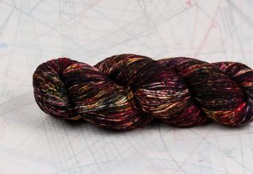 fil à tricoter en fibres d'agneau mérinos superwash