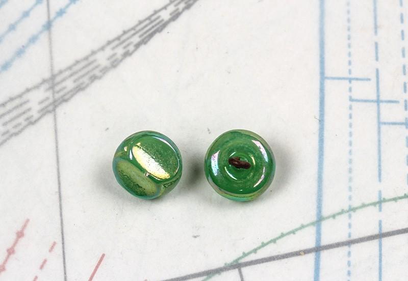 bouton en verre