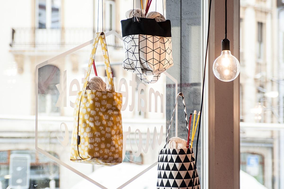 Photos : Expo sacs à tricot
