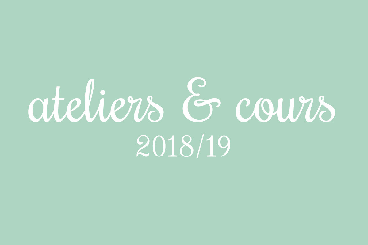 Ateliers 2018/19